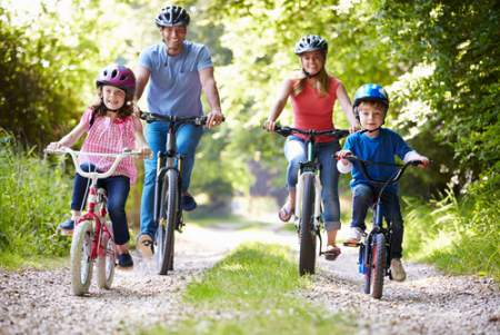things to do - family biking